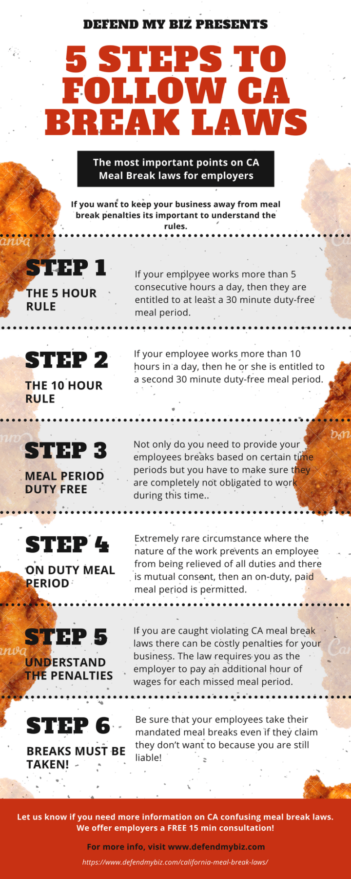 the employers guide to complying with california meal break laws