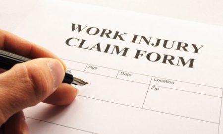 California work injury compensation claim